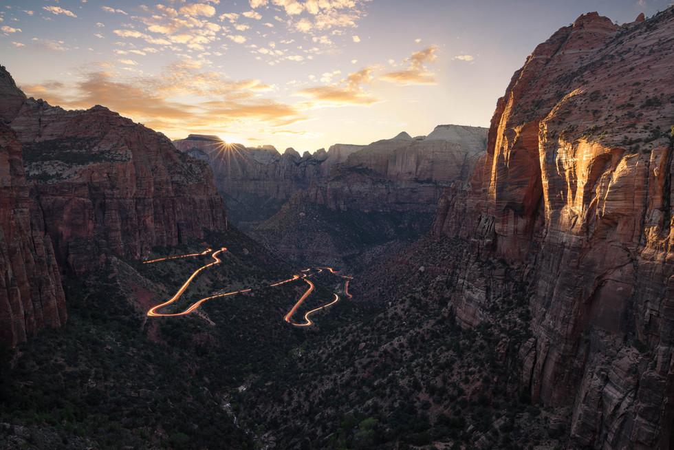 Die Wege des Zion Nationalparks