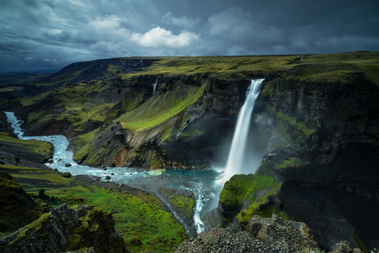 Haifoss Wasserfall