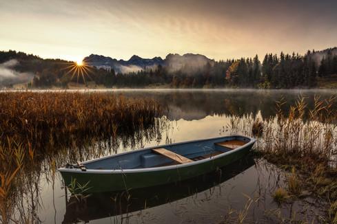 Morgenlicht am Geroldsee