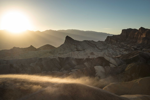 Sandsturm am Zabriski Point