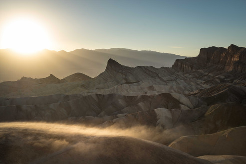 Sandsturm am Zabriski Point