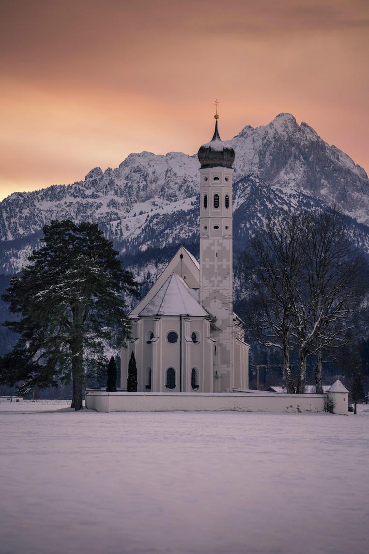 Winterabend am St. Colomann