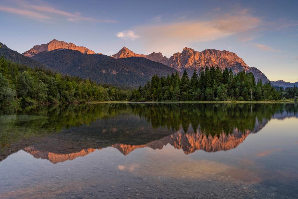 Reflection of Karwendel