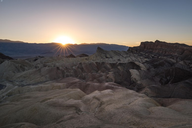 Zabriski Point Sonnenuntergang