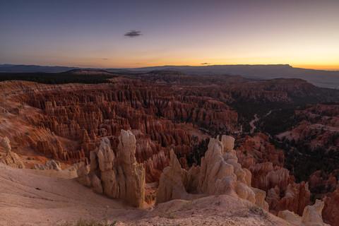 Erstes Licht am Bryce Canyon