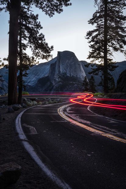 The way to the Half Dome