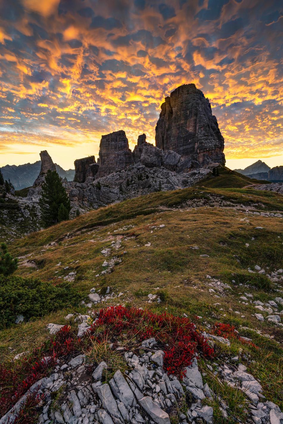 Sonnenaufgang Cinque Torri