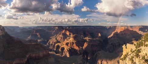 Regenbogen am Grand Canyon