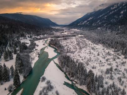 Bayerische Winterlandschaft
