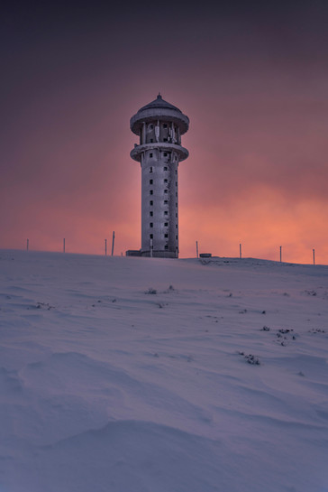 Morgen am Feldbergturm