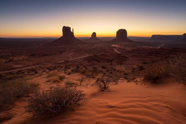 The Monument Desert