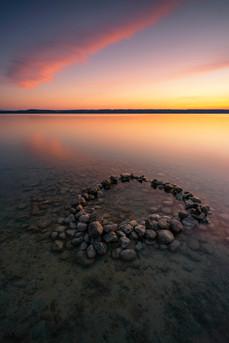 Der Steinkreis im Ammersee