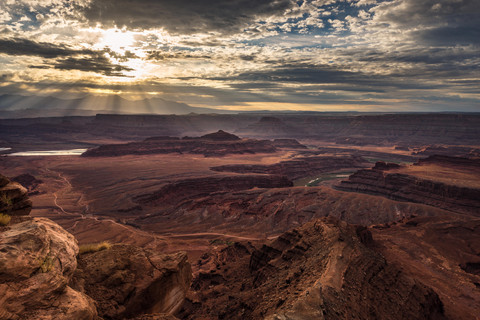 Lichtflut am Death Horse Point