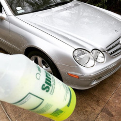 Deep cleanse for the Benz!! Started off
