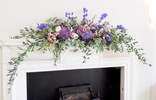 Mantelpiece Floral Arrangement at The RSA London