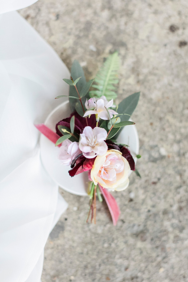 Silk Flower Buttonhole at Asylum London