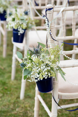 Wedding Ceremony Chair Row Ends