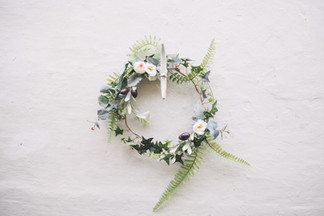 Artificial Flower and Foliage Hoop