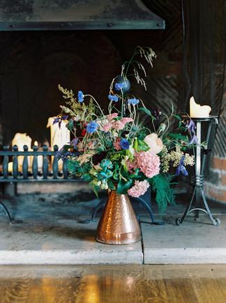 A Bouquet of Local Seasonal Flowers