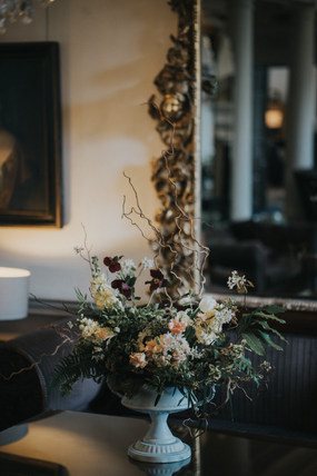 Spring Wedding Venue Floral Decoration