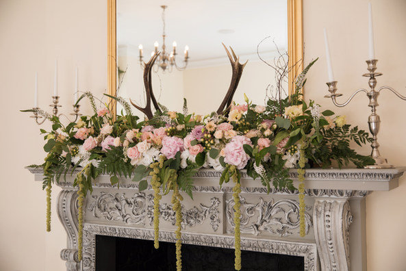 Pembroke Lodge Rustic Wedding Ceremony Flowers