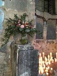 Asylum London Wedding Venue Ceremony Flowers