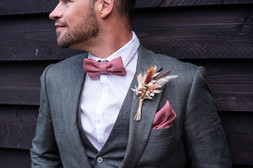 Dried Groom's Buttonhole