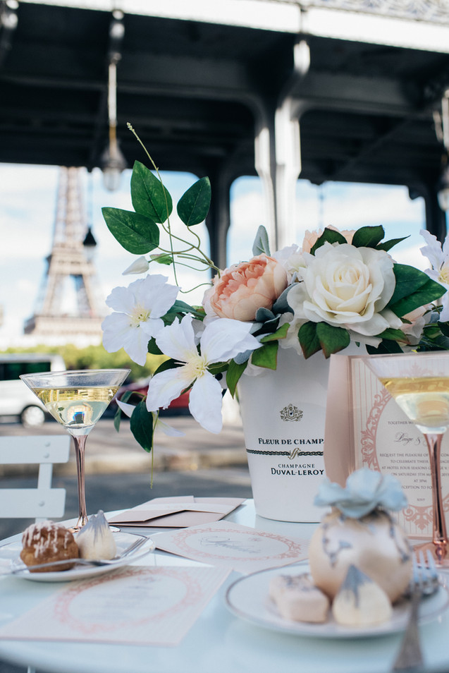 Paris Destination Wedding Flowers