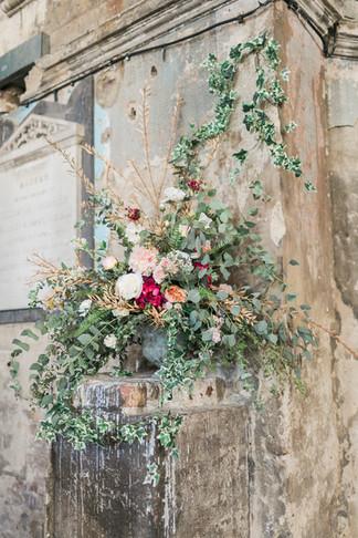 Artificial Flower Ceremony Arrangement at Asylum London