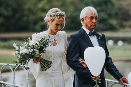 Green & White Wedding Flowers