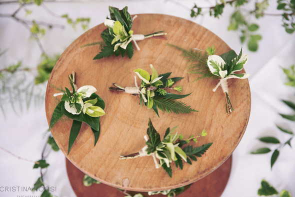 Foliage Buttonholes by Bohotanical