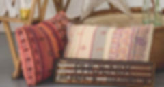 Bohemian Cushions for Wedding Styling Hire