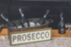 LED Prosecco Sign for Hire