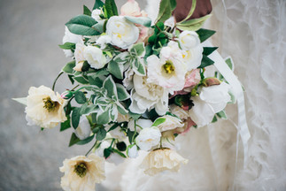 Faux Flower Bouquet for a Paris Wedding