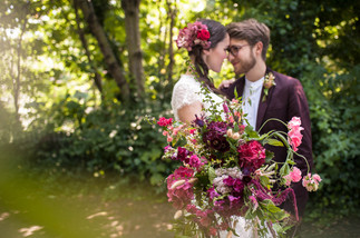 Bridal Bouquet of Local Seasonal Flower
