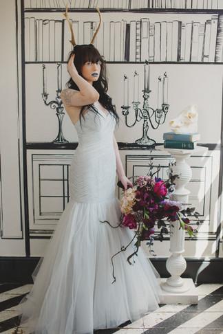 Faux Flower Alternative Bridal Bouquet