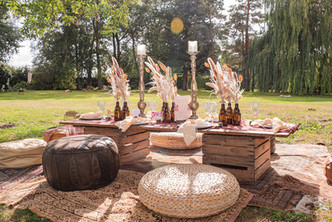 Dried Flower Table Centres
