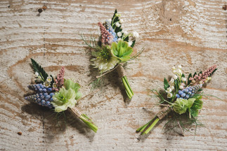 Local Spring Flower Buttonholes