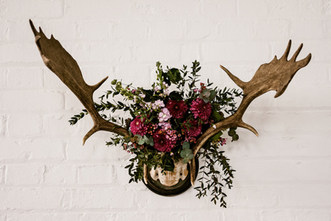Deer Antler Floral Arrangement