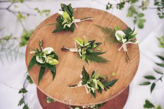 Seasonal Foliage Buttonholes