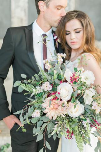 Statement Silk Flower Bouquet at Asylu London