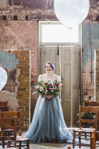 Statement Bridal Bouquet at Asylum Maverick Projects London