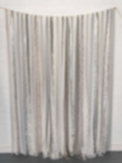 Silver Grey Ribbon Wedding Background