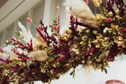 Dried Flower Wedding Decor