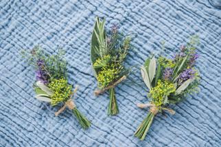 Seasonal Herbal Buttonholes