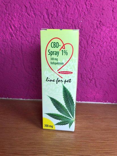 CBD Spray 1% 300mg / 30ml