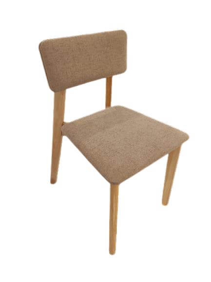 OWEN Rubberwood Chair Khaki $980 + Delivery $300