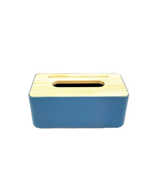 CANDY Tissue Box Cover - Blue
