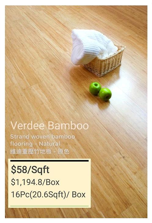 NATURE Bamboo Flooring - Natural $58/sqft  $1194.8/Box(20.6Sqft) + Delivery$300