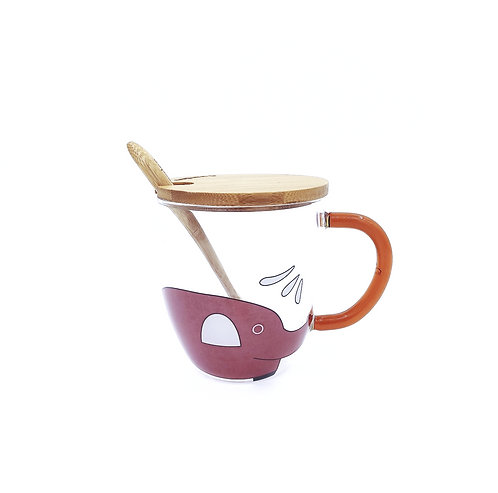 Elephant Coffee Mug - Red